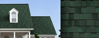 Roofing color option